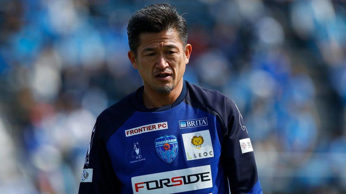 Kazuyoshi Miura, el futbolista más longevo de la historia: juega un partido de copa a sus 53 años