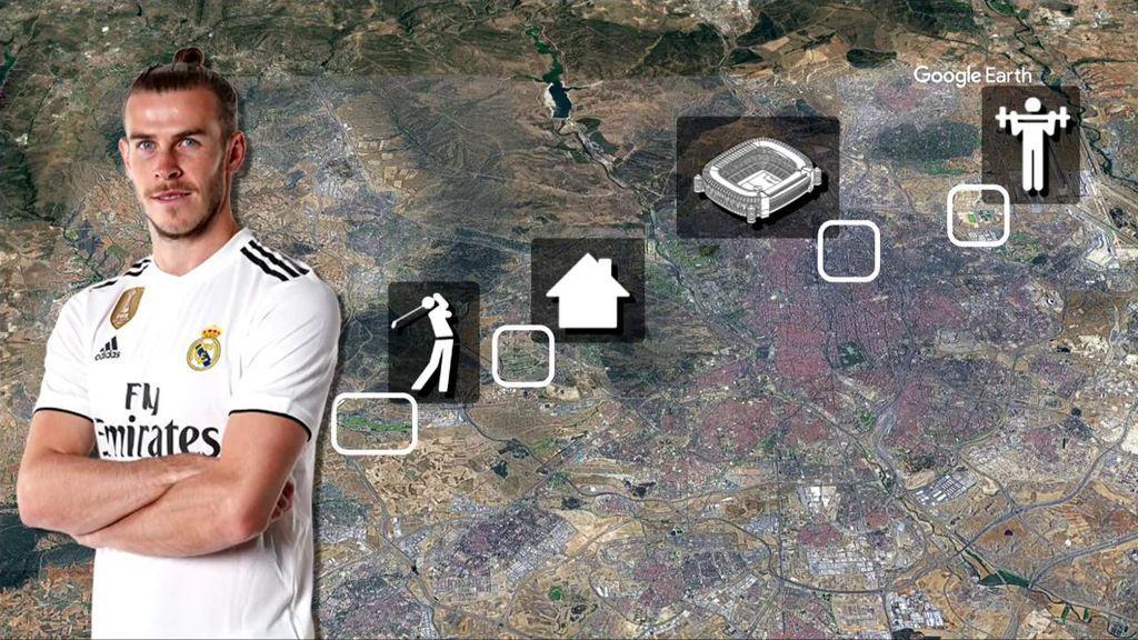 Bale, con todos los lujos que tiene en Madrid.