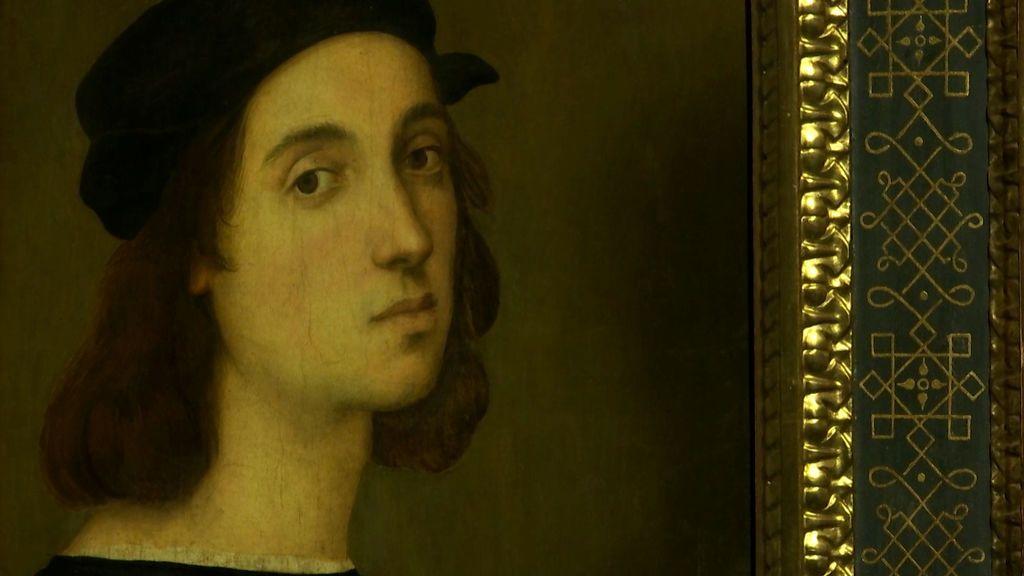 Una reconstrucción sugiere que el renacentista Rafael Sanzio se 'retocó' la nariz en su autorretrato