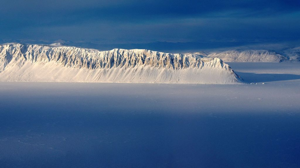 La última plataforma de hielo intacta de Canadá se acaba de desgajar