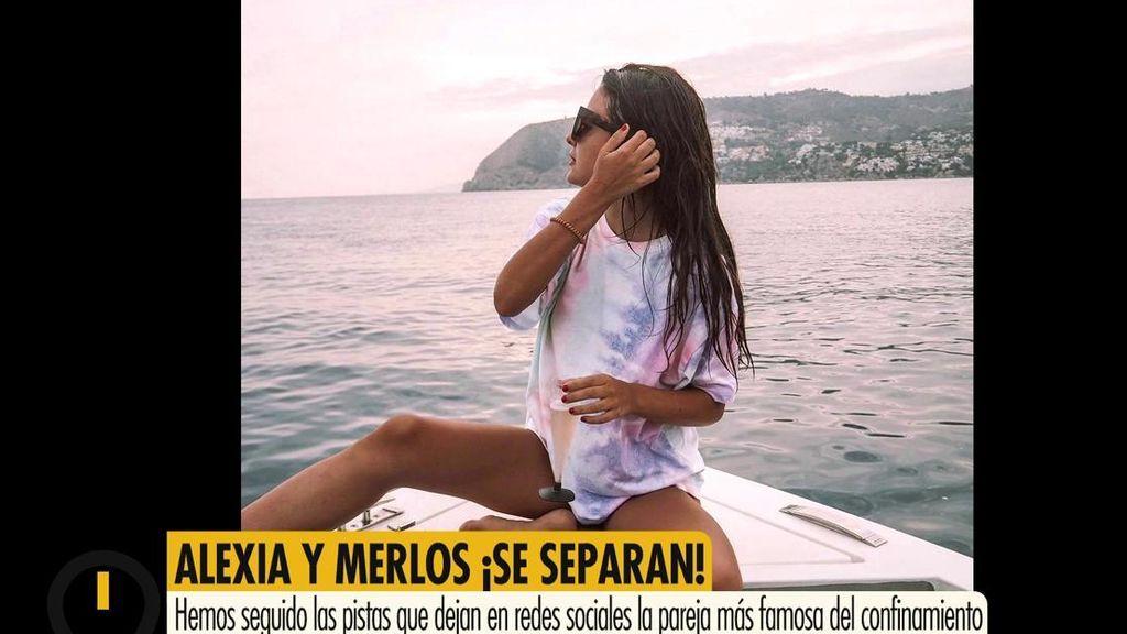 Alexia Rivas sale del 'Merlos Place': vacaciones por separado