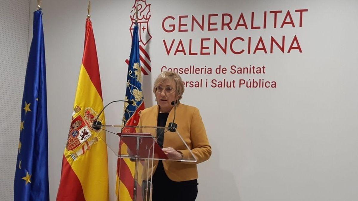 Ana Barceló, consellera de Sanitat, anuncia el retroceso de la Comunitat Valenciana a la fase 2