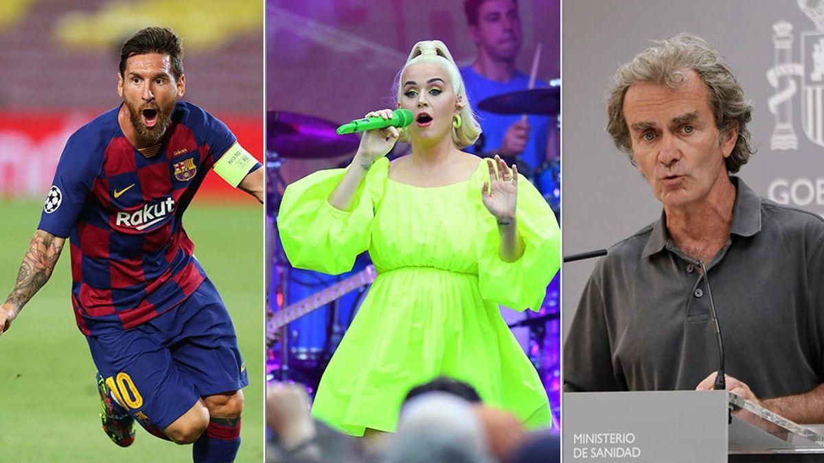 Lo niños eligen jefes: Messi, Katy Perry y... Fernando Simón