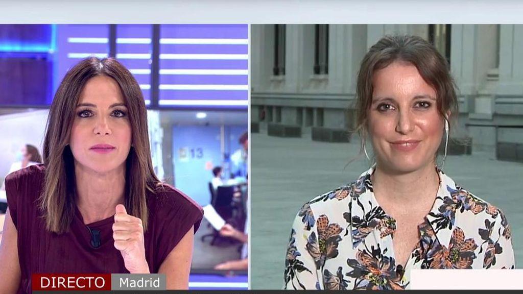 Andrea Levy, del PP, defiende la privatización de rastreadores de Madrid y carga contra el Gobierno