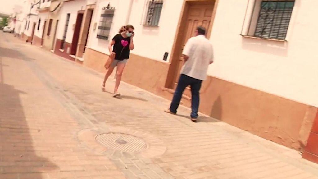 "Angelita, expareja de Humberto Janeiro, sale corriente ante las cámaras: ""Está destrozada"""