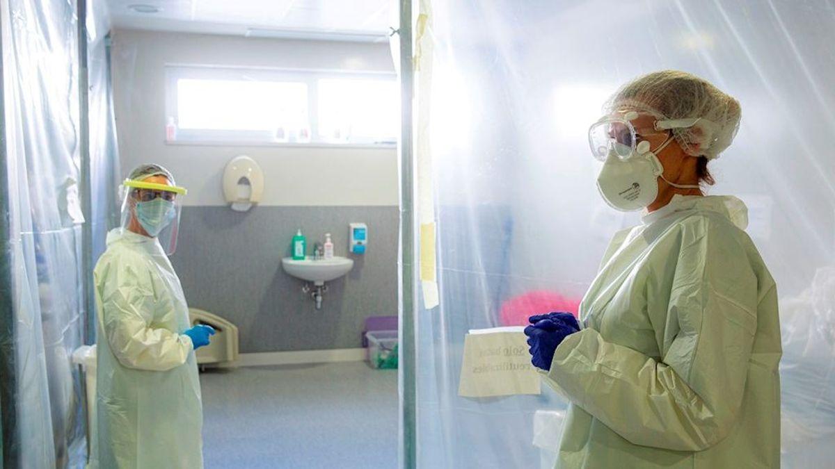 Visitas a pacientes Covid-19 en UCI