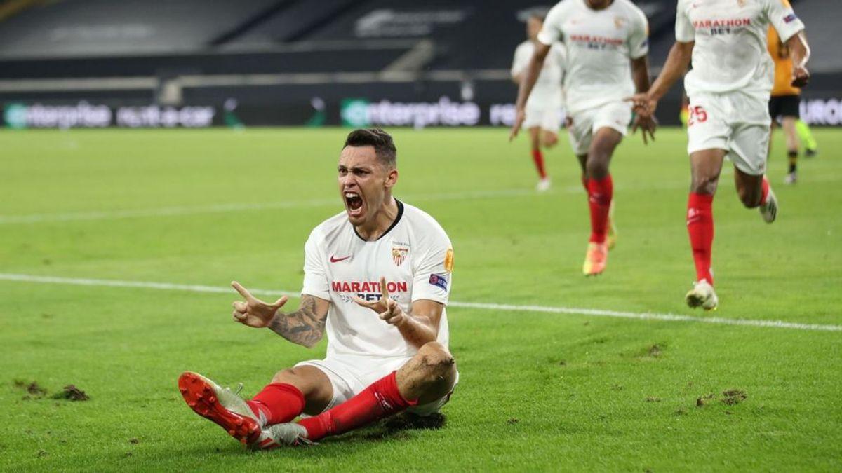 El Sevilla pone la directa a las semifinales: un gran partido de los de Lopeqtegui consigue superar al Wolverhampton (0-1)