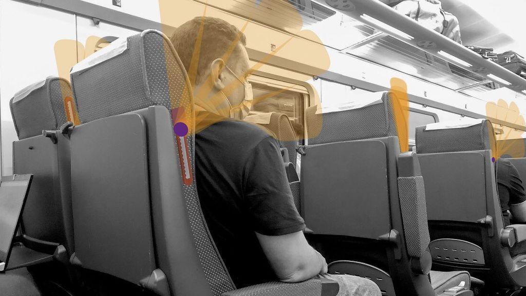Abanicovid, la pantalla para mantener la distancia en espacios cerrados