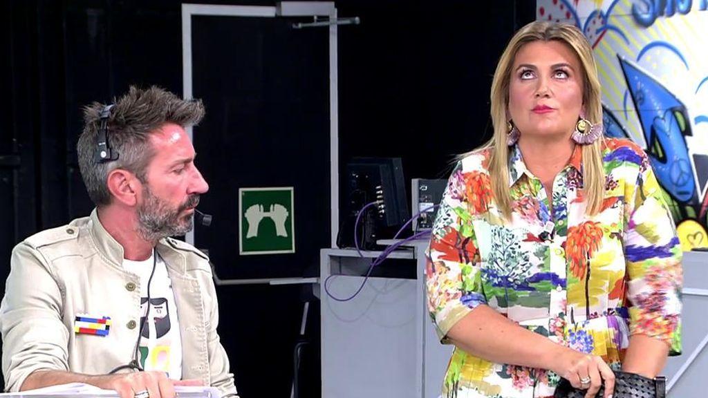 La superstición de Carlota Corredera: nada más escuchar hablar de gafes, tiene que tocar su amuleto