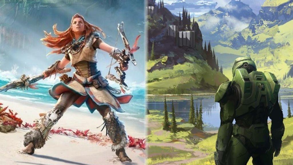 Horizon: Forbidden West y Halo Infinite