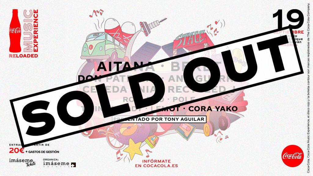 Había ganas de reencontrarse con la música: Coca-Cola Music Experience Reloaded cuelga el cartel de sold out