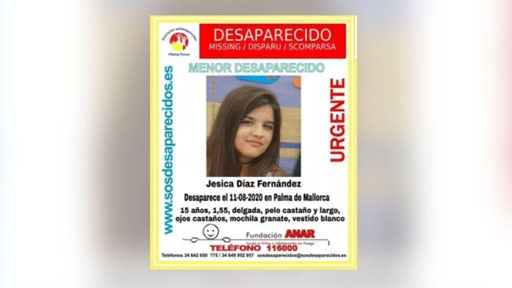 Buscan a una menor de 15 años desaparecida este martes en Palma