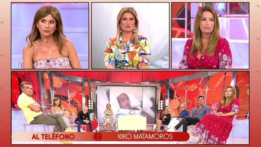 """Carlota Corredera se enfrenta a Kiko Matamoros: """"Te pido públicamente que no vuelvas a hablar de mí en una exclusiva"""""""