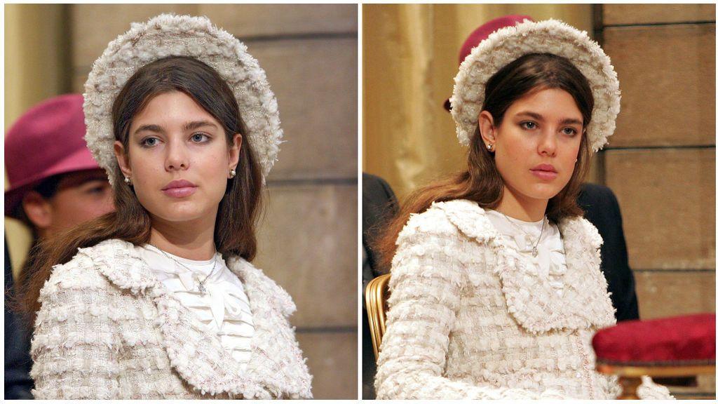 Carlota ya vino pisando fuerte desde pequeña, con este diseño de Chanel.