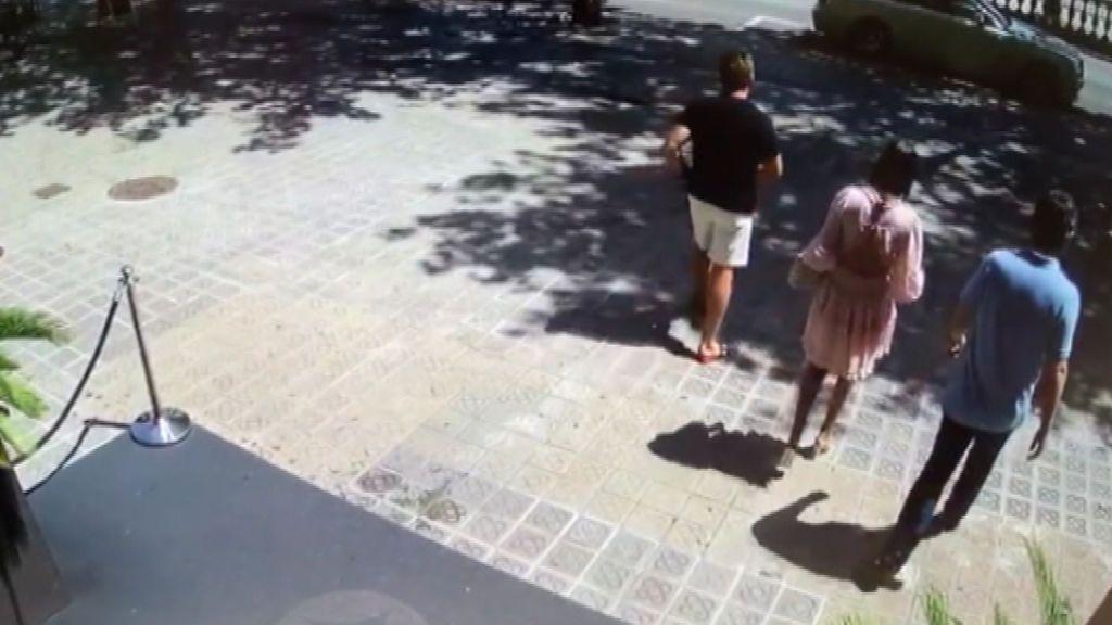 Intento de robo a unos turistas brasileños en Barcelona