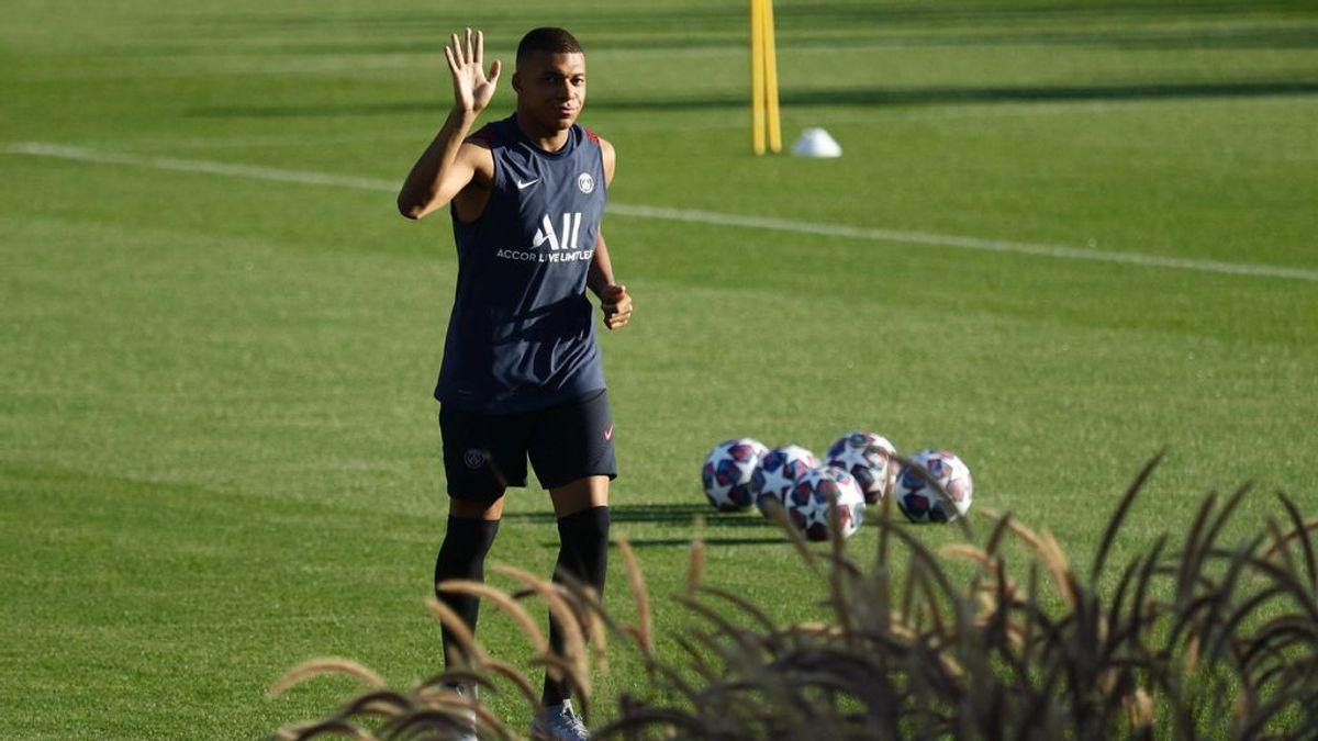 Mbappé no se borra: forzará para jugar ante el Atalanta en la Champions