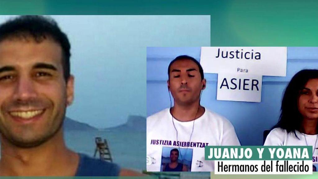 """Justicia para Asier Niebla: """"Murió por una agresión por celos y eso es violencia machista"""""""