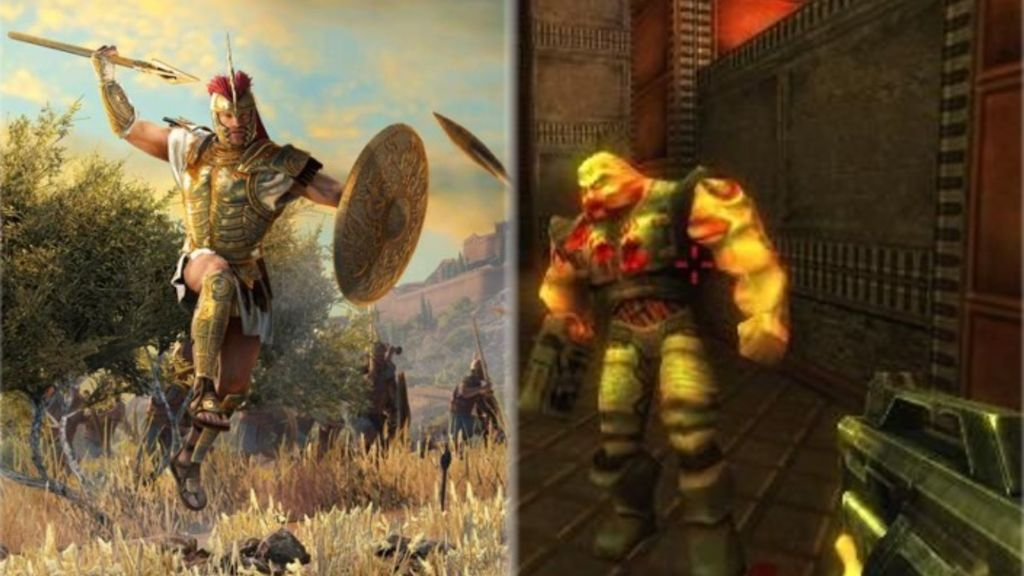 Total War Saga Troy y Quake II