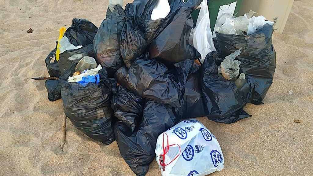 La basura recogida este miércoles