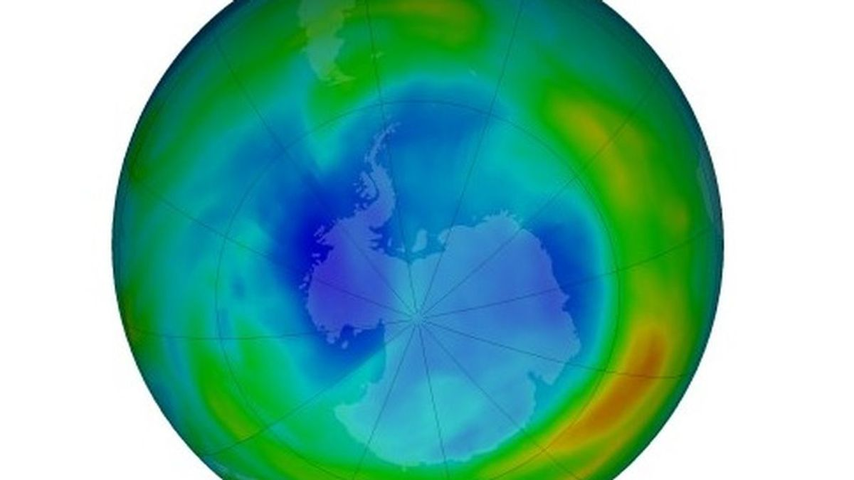 Se ensancha el agujero de ozono sobre la Antártida: los factores que lo están favoreciendo