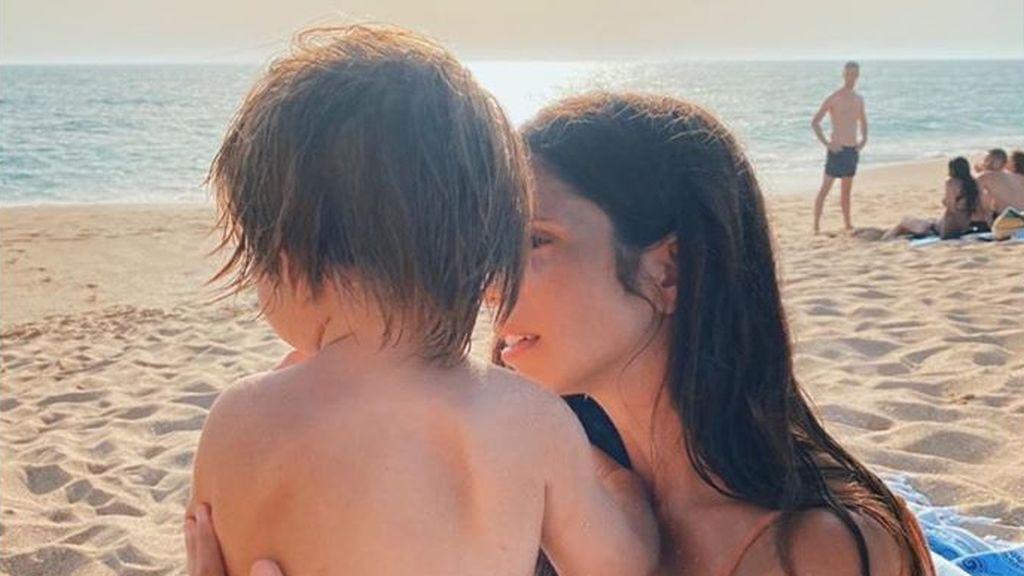 """Lolita muestra lo mucho que ha crecido el hijo de Elena Furiase: """"Lo más grande"""""""