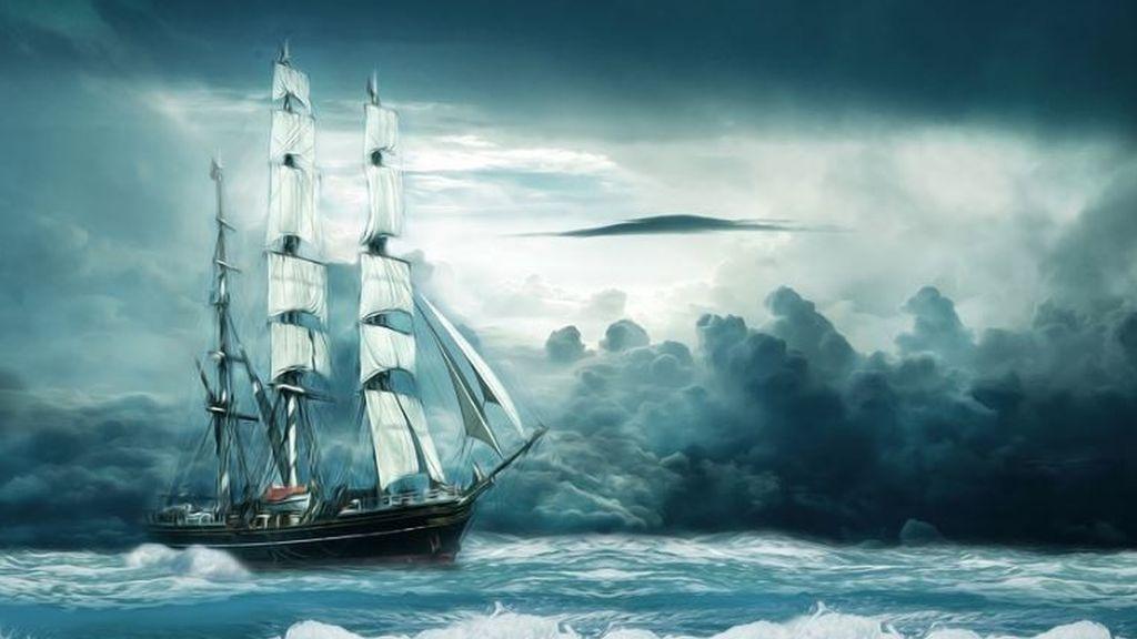Agua muerta: cuando ni el motor ni el timón deciden la dirección de un barco y lo hace el mar