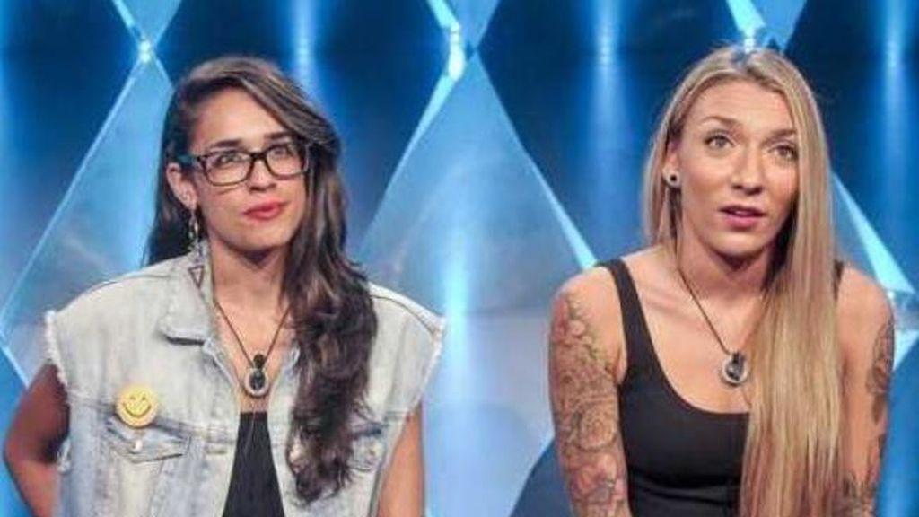 Lucía y Paula ('GH')
