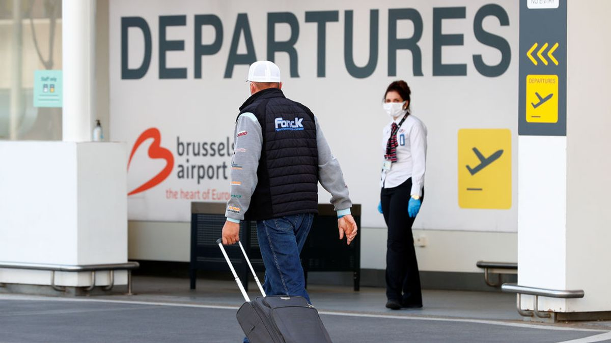 Bélgica amplía la obligación de guardar cuarentena a los viajeros que lleguen de Vizcaya y Soria