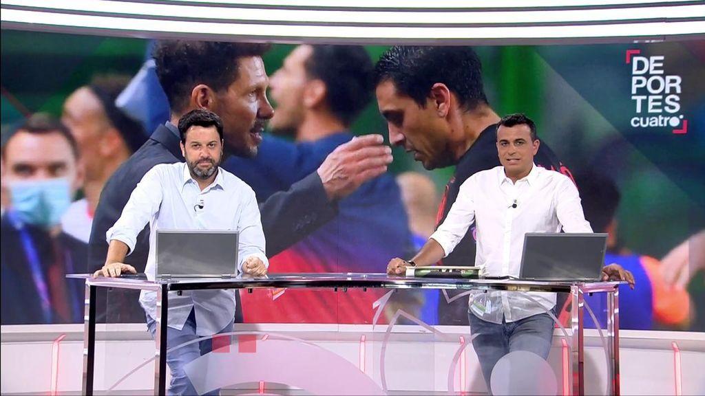 Diego Miguel Fernández y Luis Vaquero, en un momento del programa.