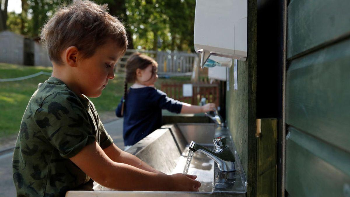 Dos de cada 5 colegios no tienen donde lavarse las manos, según Unicef y OMS