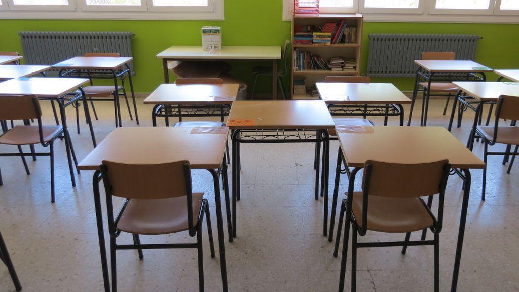 Así se colocarán las mesas en las aulas de infantil y primaria