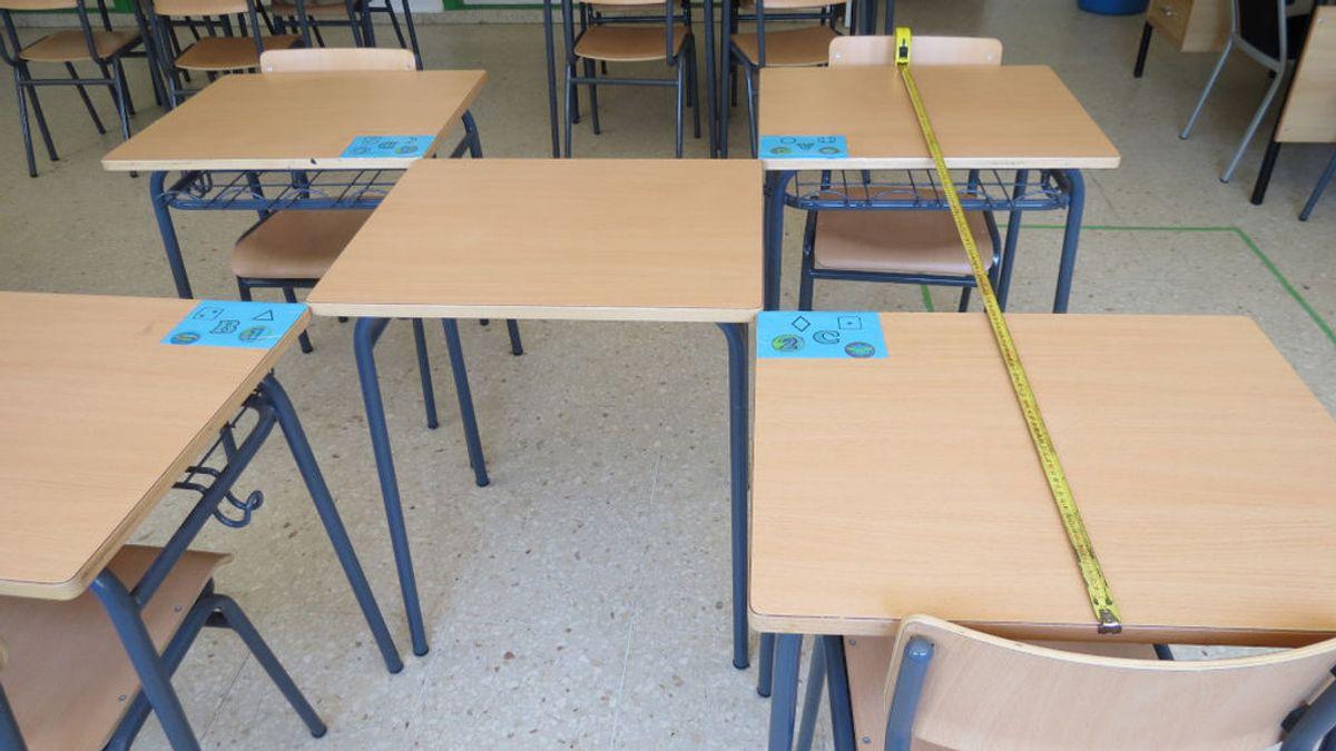 Semáforos en los baños y un cuarto para aislar a los positivos: así será la vuelta al cole en un centro escolar de Galicia
