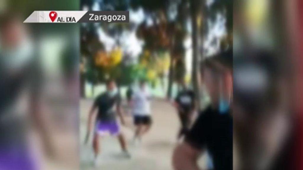 Brutal pelea a machetazo limpio entre dos bandas rivales en Zaragoza