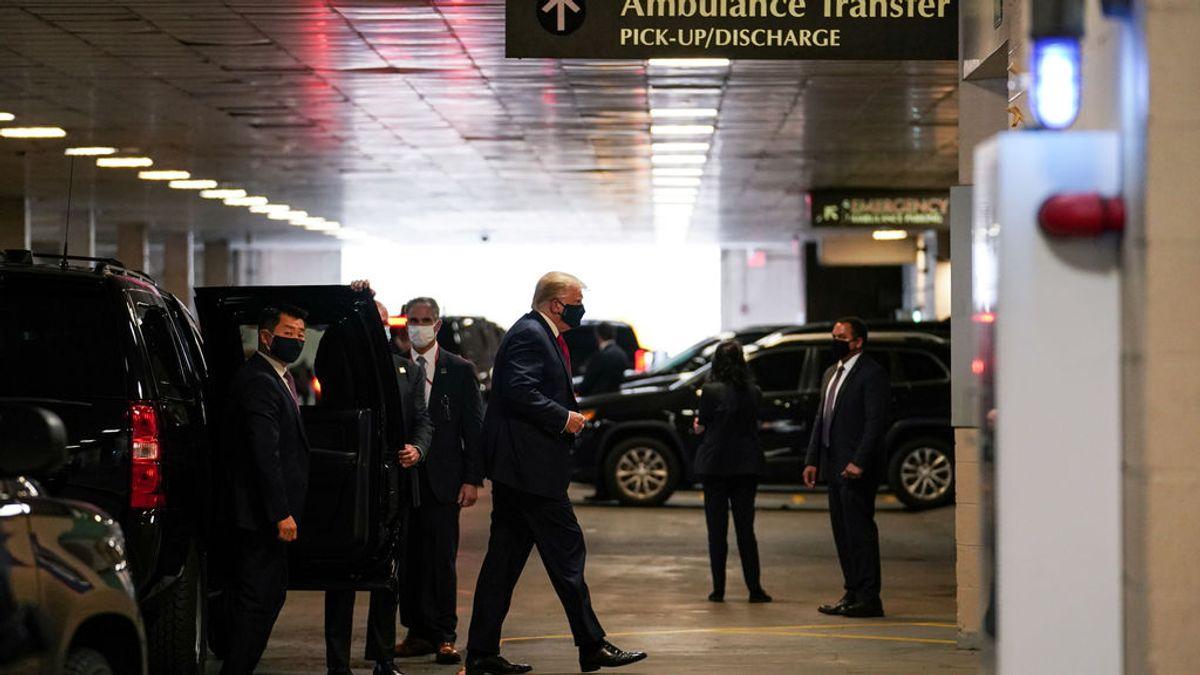 """Donald Trump visita a su hermano menor en un hospital de Nueva York: """"Espero que esté bien"""""""