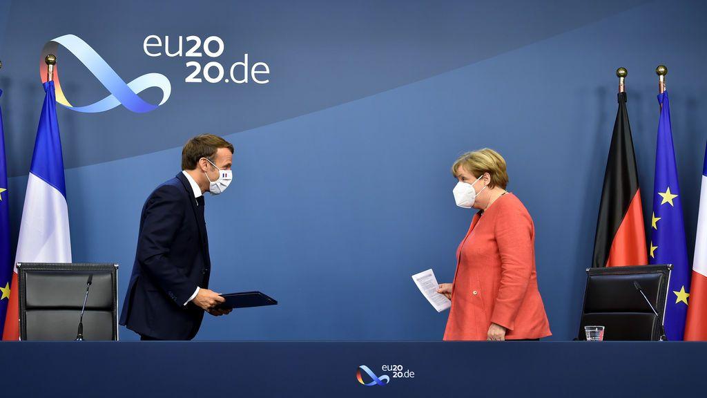 Merkel, obligada a mediar entre Grecia y Turquía por la tensión en el Mediterráneo oriental