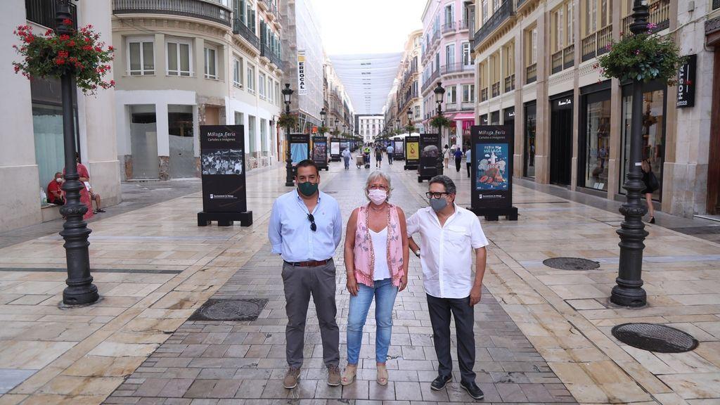 EuropaPress_3256492_ayuntamiento_malaga_informa_muestra_grafica_calle_larios_recrea_momentos
