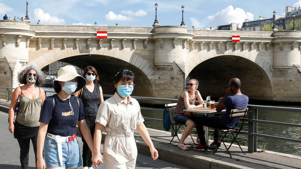 Francia se enfrenta a una segunda ola de la pandemia tras superar los 3.000 contagios en un día