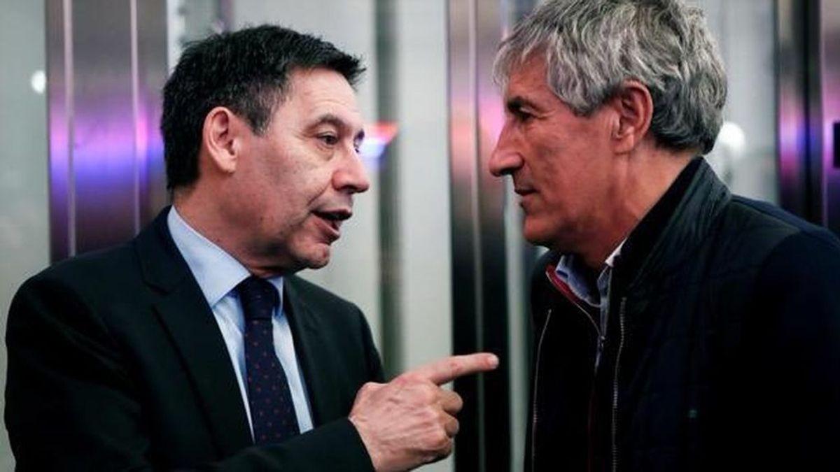 Setién, sentenciado: Bartomeu se reunió esta semana con Pochettino en Barcelona