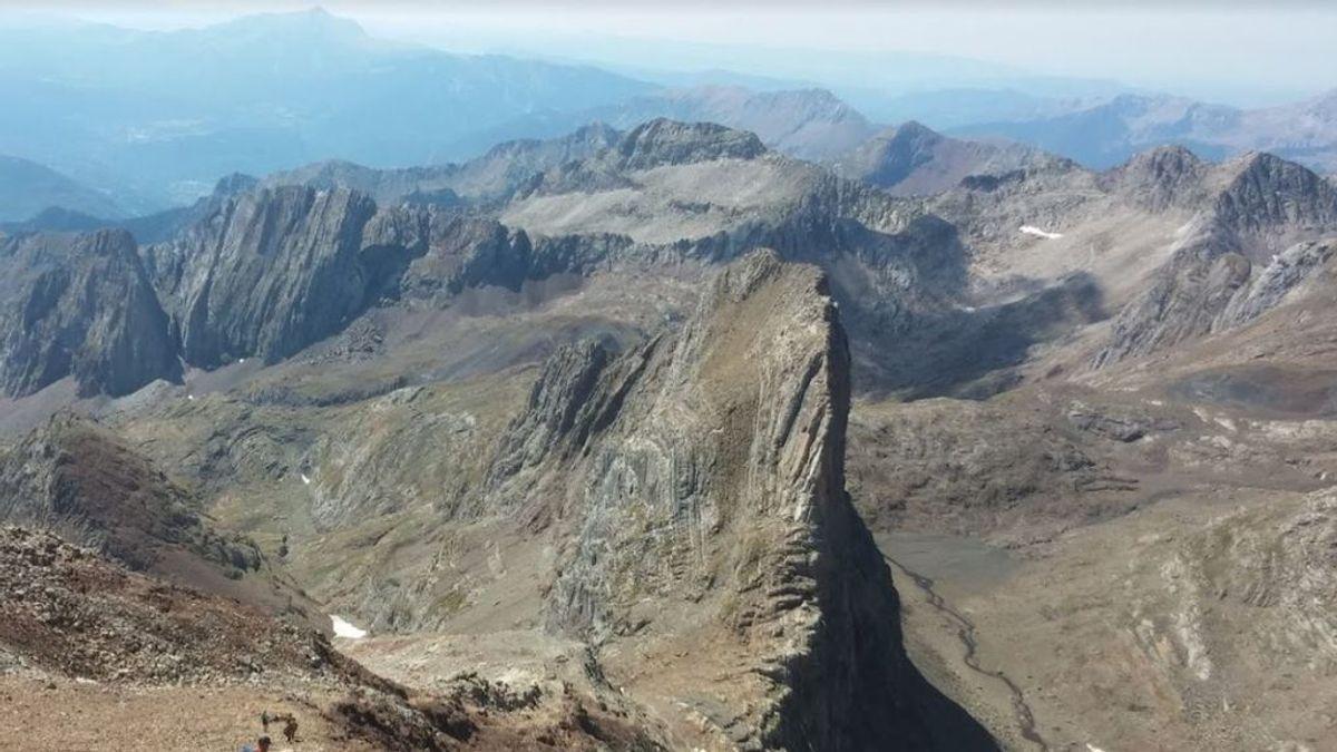 Muere un montañero en el pirineo de Huesca: se resbaló y se precipitó desde una altura de 150 metros