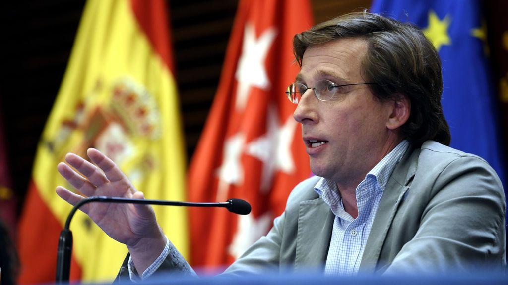 """Almeida, sobre un futuro confinamiento en Madrid: no se puede """"desde el punto de vista económico y social"""""""