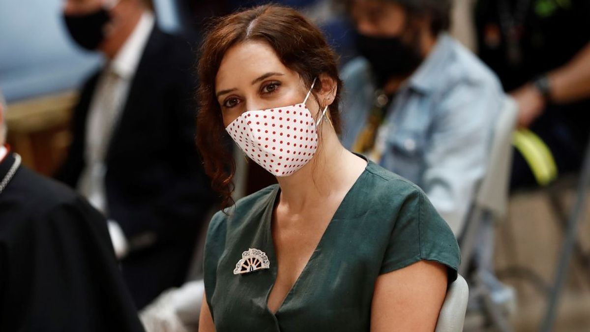 """Ayuso, sobre la vuelta al cole ante el coronavirus: """"Soy partidaria de que vuelvan a las aulas"""""""