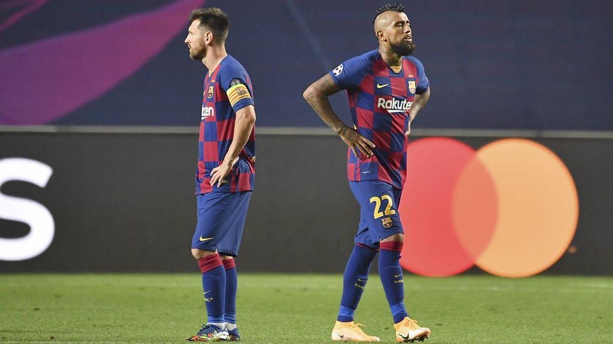 Debacle histórica en el FC Barcelona: pierde 2-8 contra el Bayern y todos los cimientos del club se tambalean
