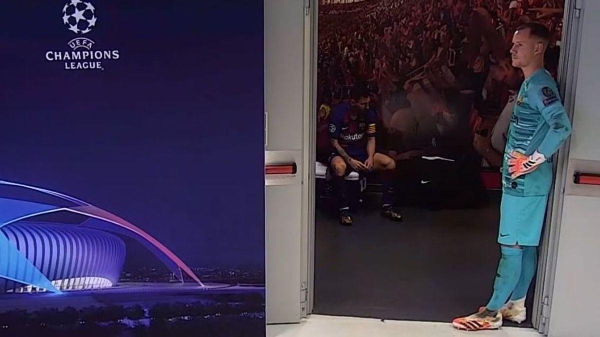 Messi, tocado y hundido: la imagen del capitán  que refleja la noche más negra para los culés