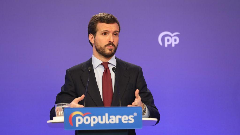 Casado diseña su estrategia para posicionar el PP como alternativa a Sánchez en el nuevo curso político