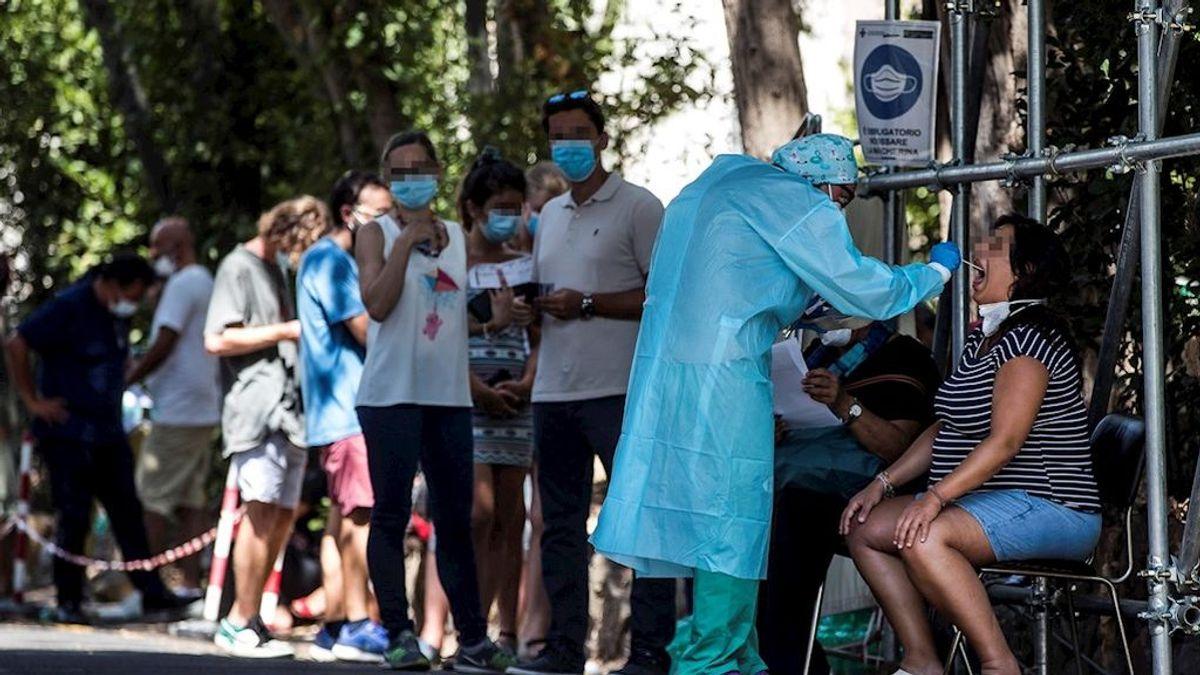 Italia anuncia el cierre de discotecas y el uso obligatorio de mascarilla ante el repunte de contagios