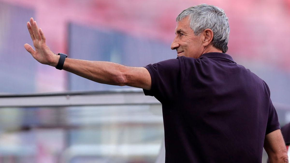 El Barça destituye a Quique Setién tras tan solo siete meses en el banquillo