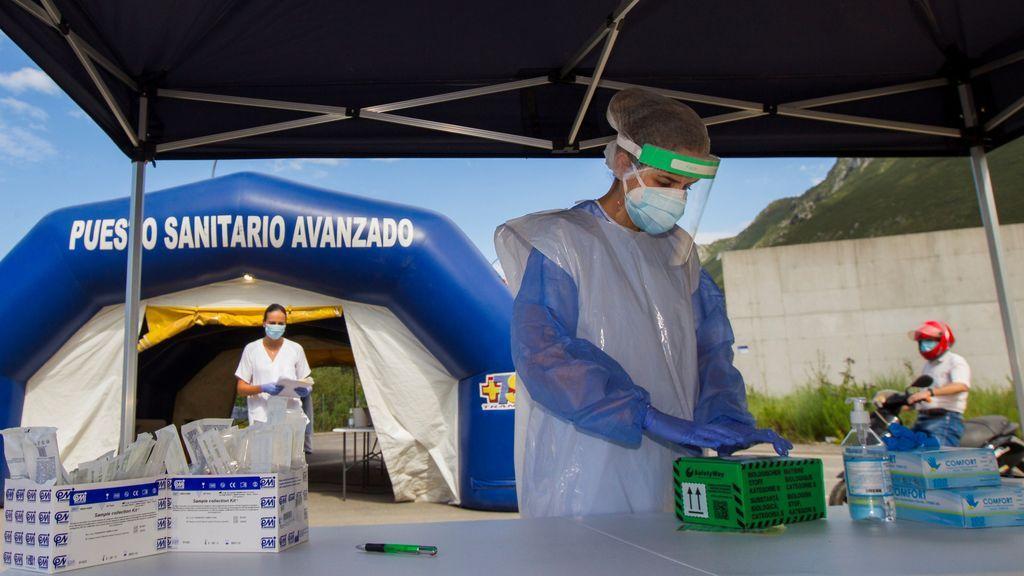 Sanidad notifica 16.269 casos de coronavirus en el fin de semana