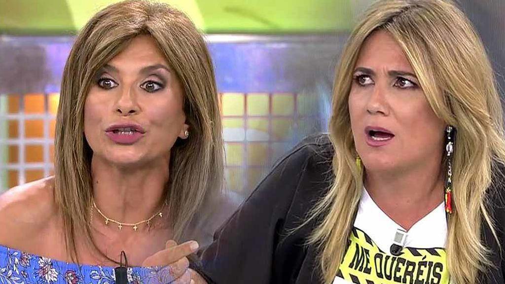 """El enfado de Carlota Corredera y Gema López: """"Estás tirando a tu programa"""""""