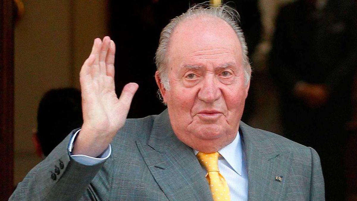 El rey Juan Carlos I está en Emiratos Árabes