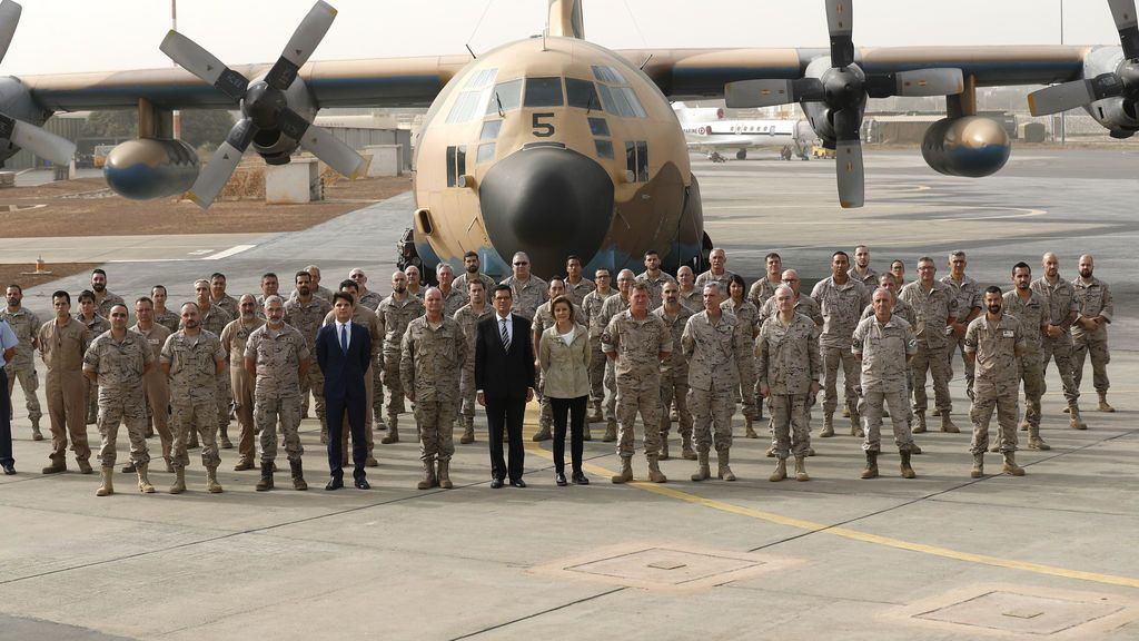 25 militares españoles repatriados desde Dakar tras dar positivo por coronavirus